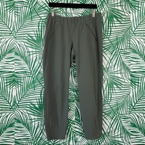 Athleta Olive Green Aspire Ankle Pants Size 10
